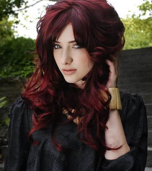 hair colors brown red - photo #48