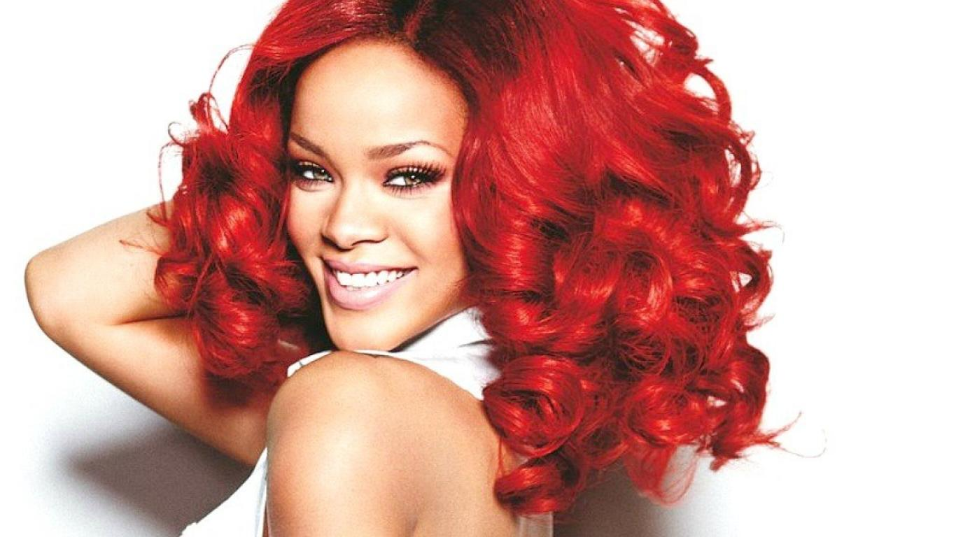 red hairstyle contact