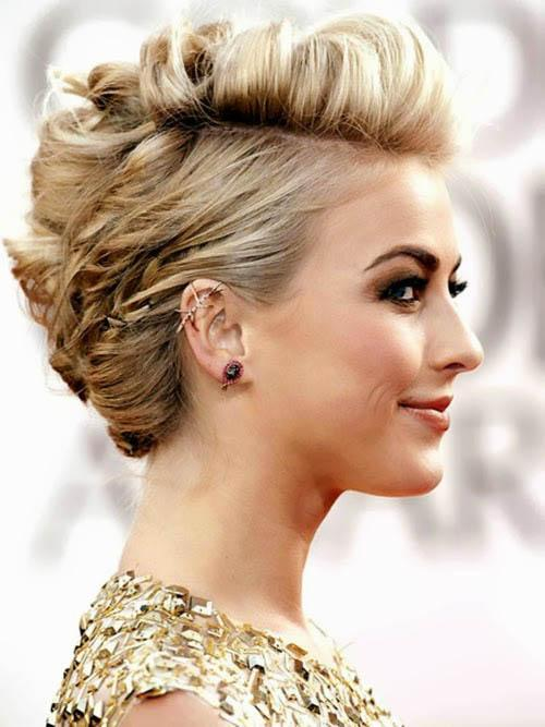 Fabulous Medium Hair Party Hairstyle Cool Hairstyles Photo Blog Hairstyle Inspiration Daily Dogsangcom
